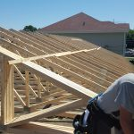 Building a new roof on a existing building